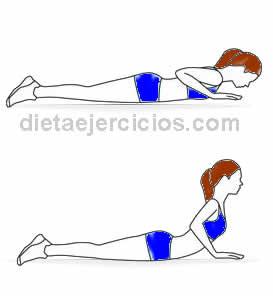 rutina de ejercicios abdominales la cobra