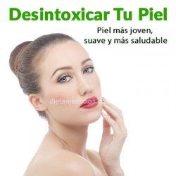 como desintoxicar la piel