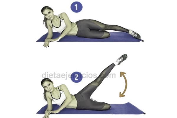 ejercicio celulitis nalgas