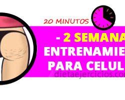 entrenamiento para celulitis