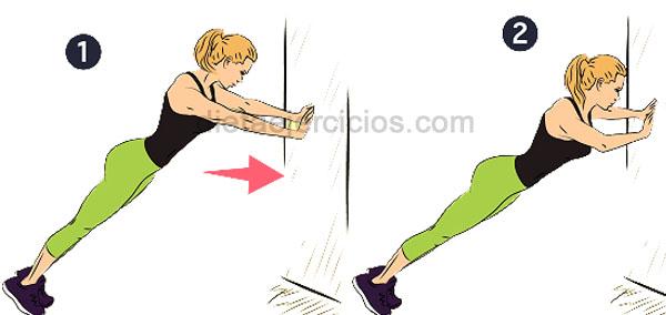 ejercicios corre la pared