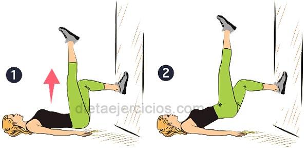 ejercicios asciende tus caderas